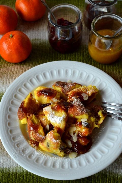 Kaiserschmarrn – austriacki omlet cesarski